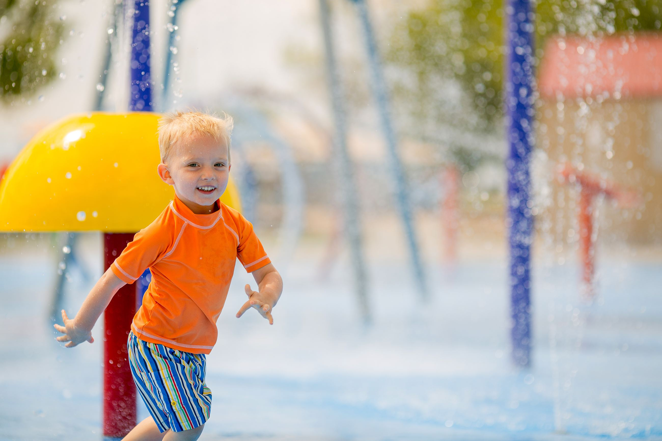 Splash Pad at Clem Dufour
