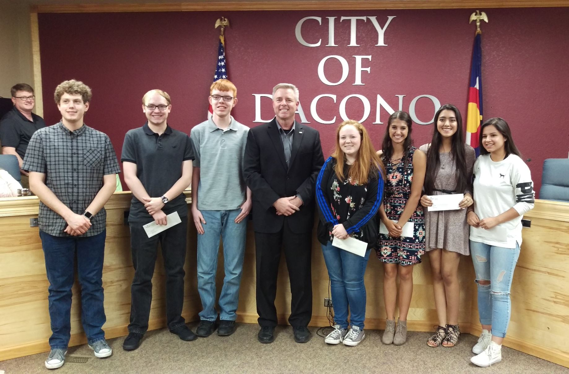 2018 City of Dacono Scholarship Recipients